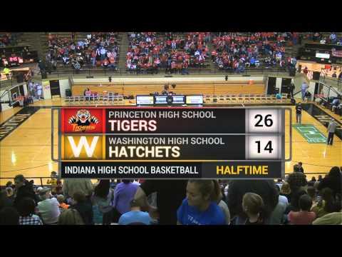 WHS Lady Hatchets vs Princeton Lady Tigers