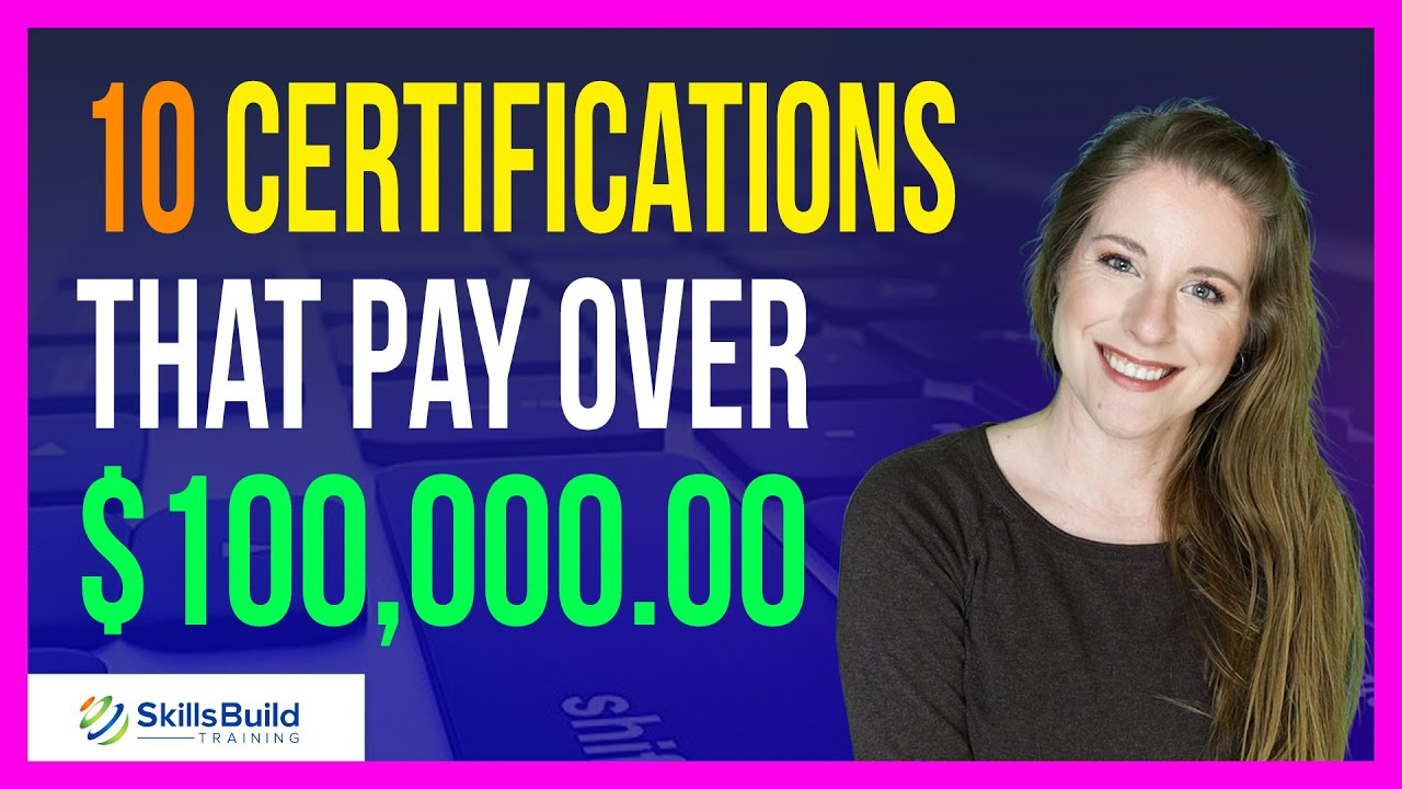 10 IT Certifications That Pay Over $100,000 | Highest Paying Certifications | Best IT Certifications