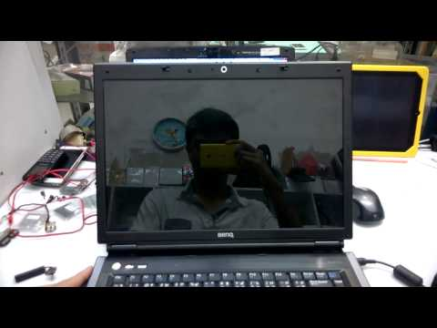 BenQ R56 Screen Distortion [LCD Screen and Mainboard Out of Order]
