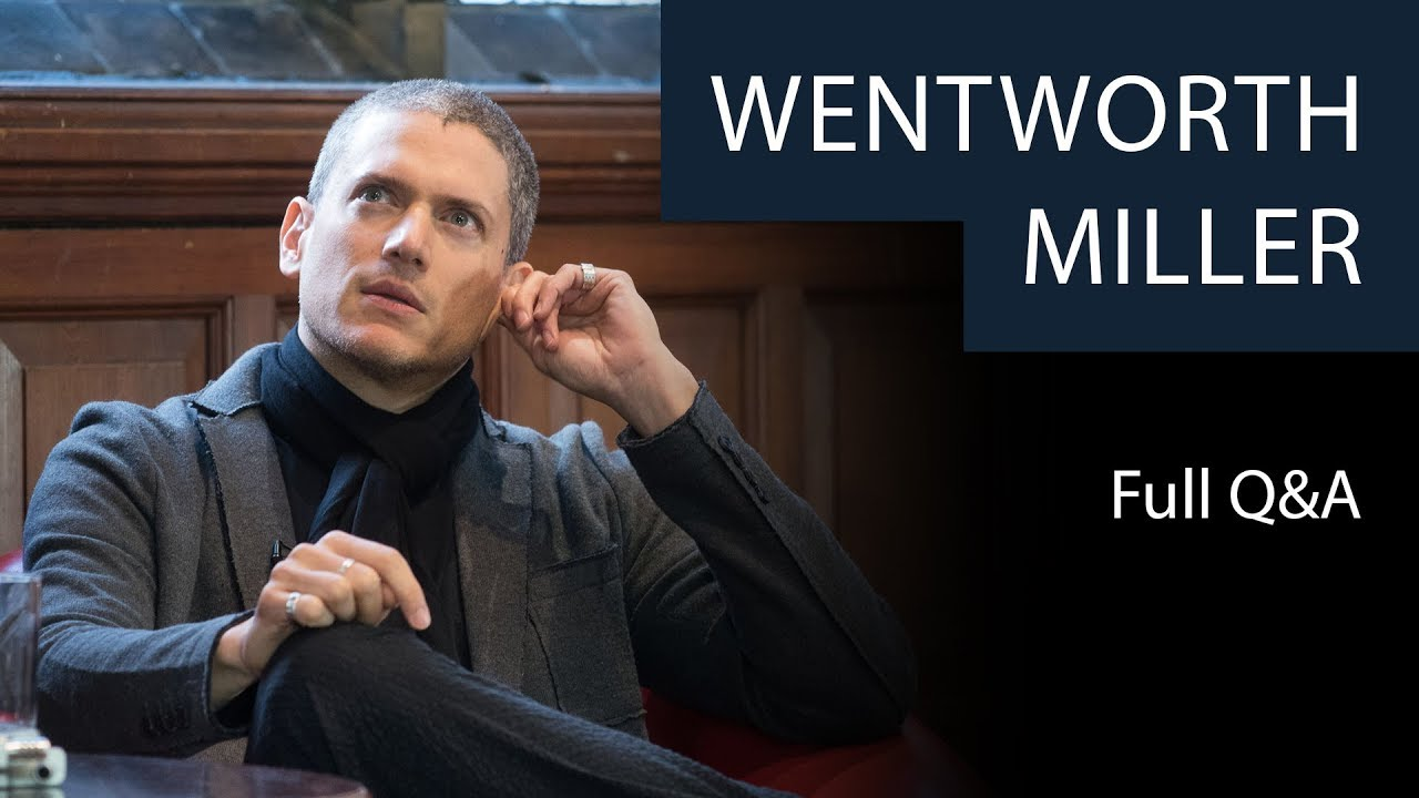 Download Wentworth Miller | Full Q&A | Oxford Union