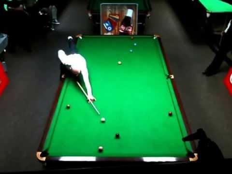Snooker Shootout 2013 - 16 manna Tryggvi Erlingsson vs Gary Vinson