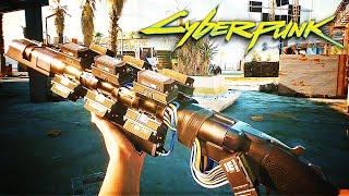 Cyberpunk 2077 — Official 4K Gun Combat Gameplay Trailer