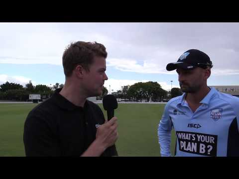 Nathan Lyon talks Ashes, NSW good start to the season and burnt toast