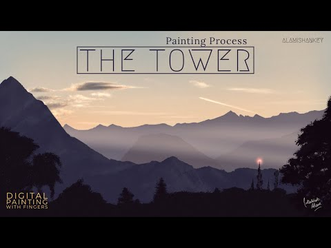 THE TOWER [Digital Painting With FINGERS]