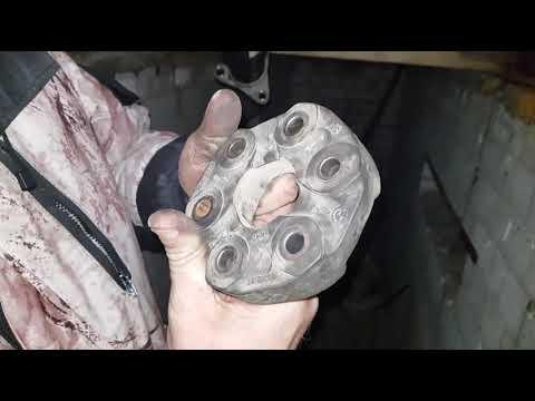 Замена центрирующей втулки и эластичной муфты кардана. Устранение вибраций кардана часть 3.
