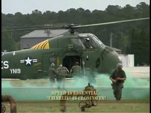 "Vietnam Helicopter ""Evac"" Rescue Mission --- Air Show Re-enactment"