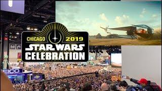 Star Wars Episode IX - The Rise Of Skywalker Teaser AUDIENCE REACTION CELEBRATION 2019 CHICAGO
