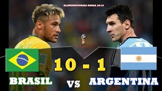 Download Video Brasil 10 vs Argentina 1 -