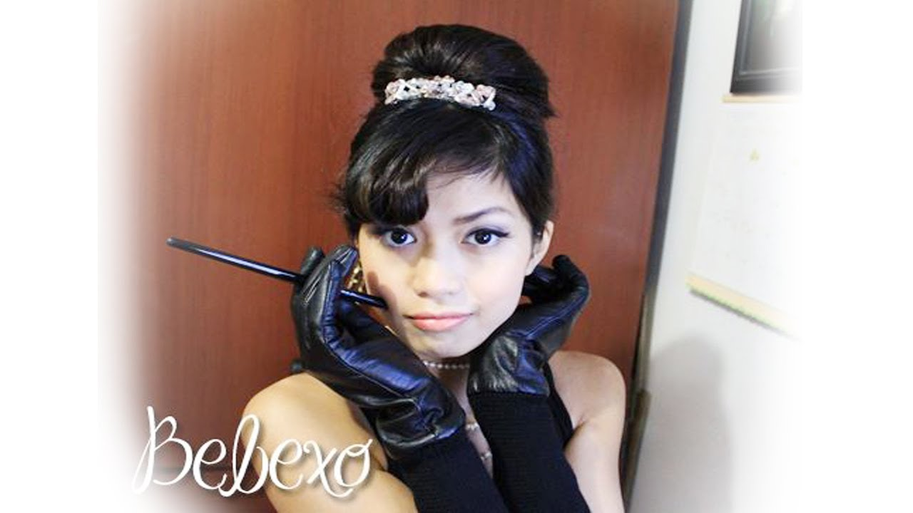 Audrey Hepburn Hair Styles Adorable Audrey Hepburn Hair Tutorial Hairstyle From Breakfast At .