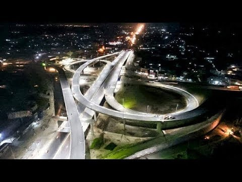Aziz Chowk FlyOver Gujranwala Complete View