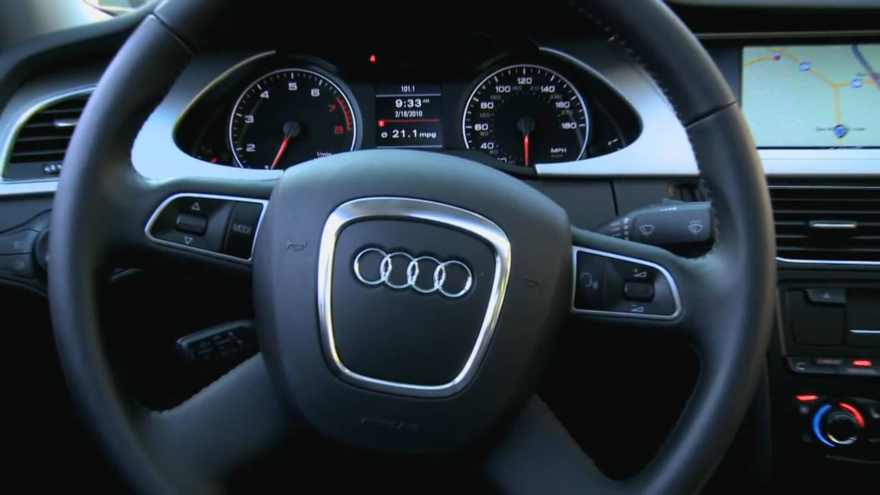 2010 audi a4 interior. Black Bedroom Furniture Sets. Home Design Ideas