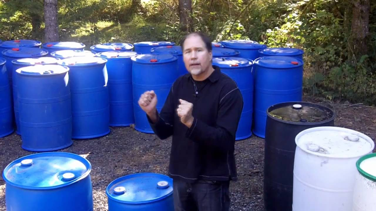 Plastic Barrels for Dock Floats