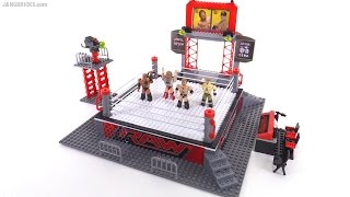 C3 Toys WWE Stackdown Raw Ring Set review! 21032