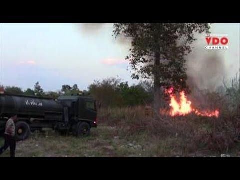 ไฟไหม้ป่าละเมาะศูนย์ราชการเชียงใหม่ ลามห่างปั้มแค่ร้อยเมตร-ต้องระดมดับเพลิงนับสิบคันช่วย