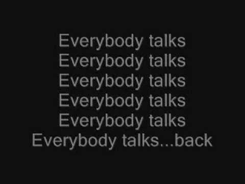 Everybody Talks- Neon Trees Lyrics