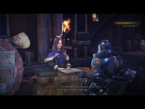 Monster Hunter: World - Gathering Hub Tutorial & Tour: Provisions, Squads, Chamber of Five (2018)