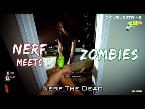 Nerf meets Call of Duty: ZOMBIES | First Person and Real Life in 4K!