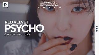 Red Velvet - PSYCHO // Line Distribution