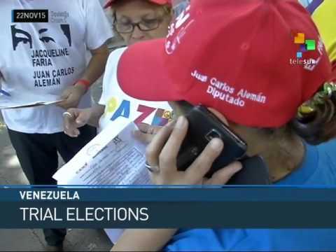 Venezuela: 2 Million Participate in Trial Elections