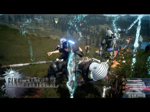 【Final Fantasy XV】Phantom Sword Special Move