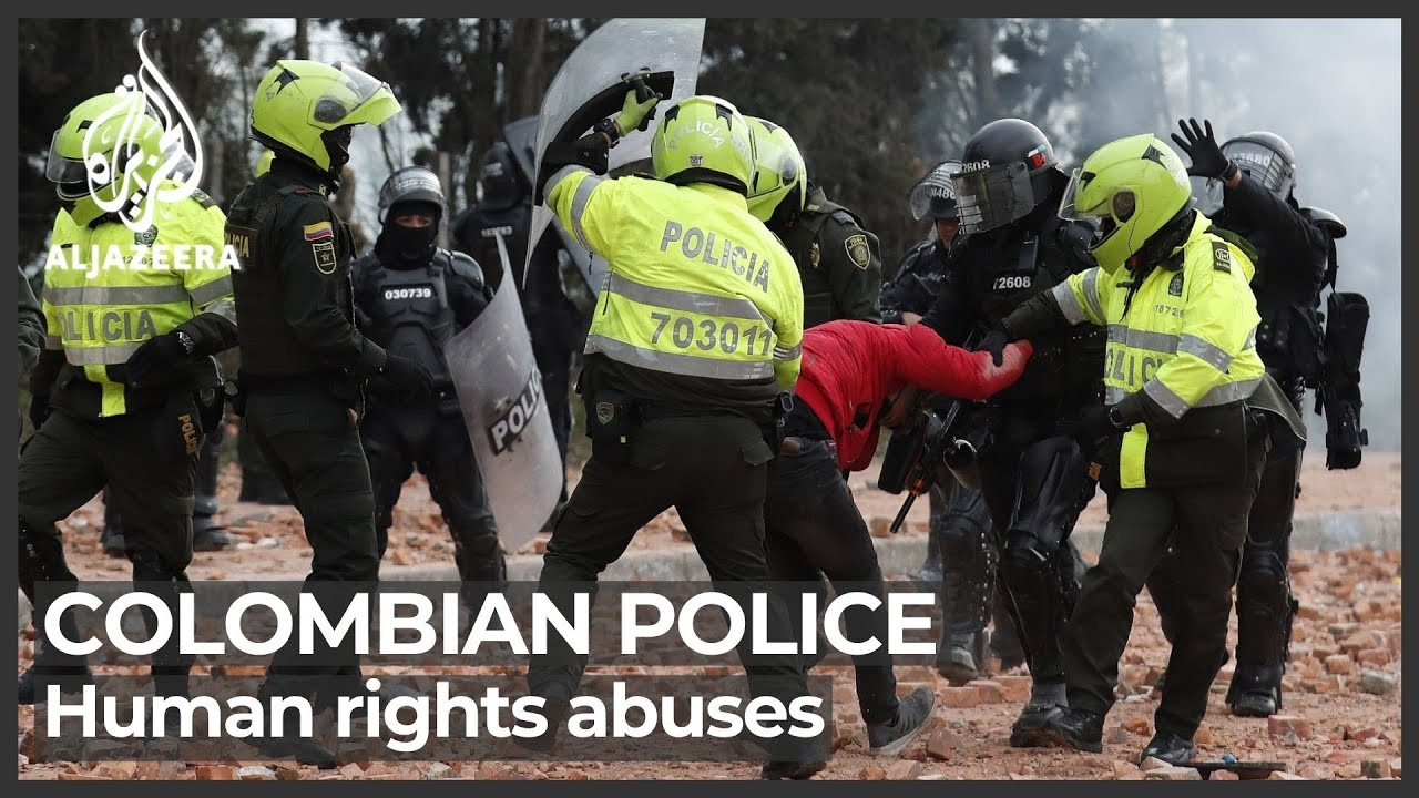 Download 'Egregious' police abuse against Colombian protesters: Report