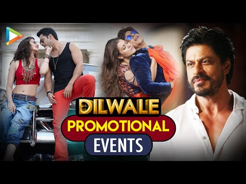 Shahrukh Khan | Kajol | Kriti Sanon | Varun Dhawan | Dilwale Movie Promotion | Full Event
