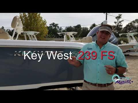 Key West 239 FS - 2018 - Ocean Marine Group - Presented by Chad Davis