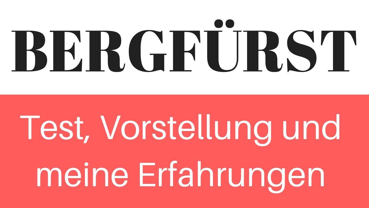 BergfГјrst Test