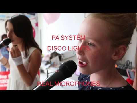 Disco & Karaoke Party for Children