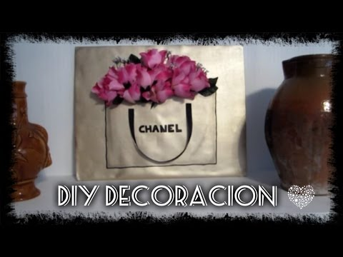 diy decoracin cuadro chanel