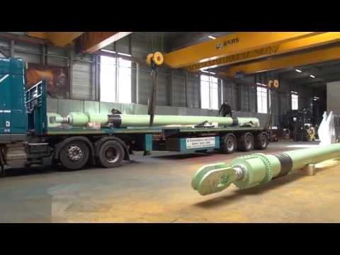levering WDH's langste cilinders voor Offshore toepassing met een slag van 12 meter