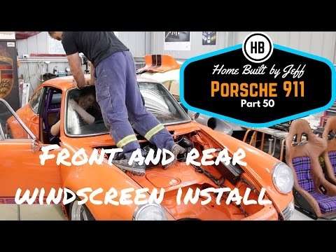 How to install front and rear windows...? - Porsche 911 Classic Car Build Part 50