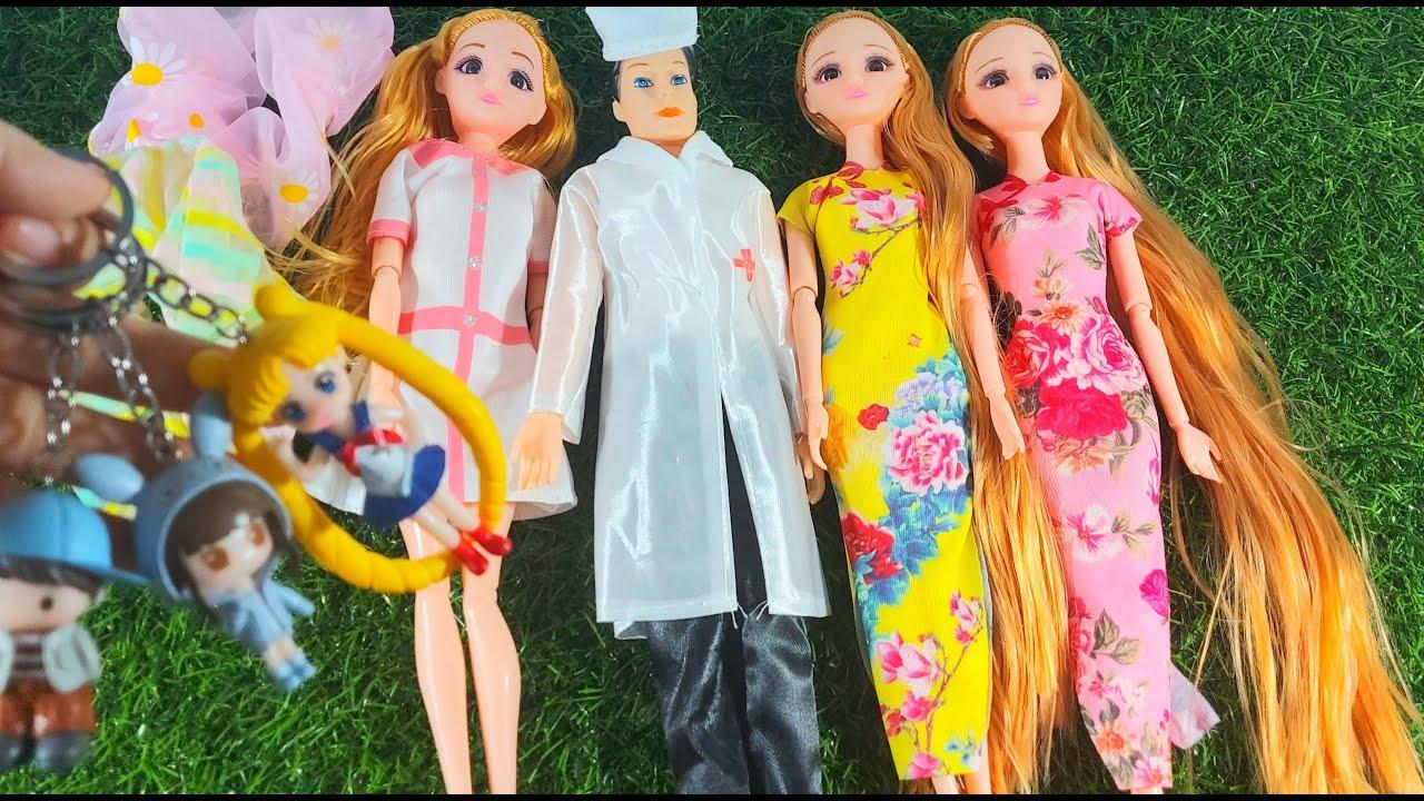 Ngày 16/9/2020- MỚI: B.Ú.P B.Ê cặp đôi Y tá - Bác sỹ/ BB Cô Gái Trung Hoa/ Móc Khoá Đôi Bạn Trai-Gái