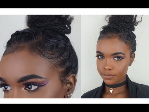PROTECTIVE HAIRSTYLES FOR CURLY HAIR HALSSA YouTube