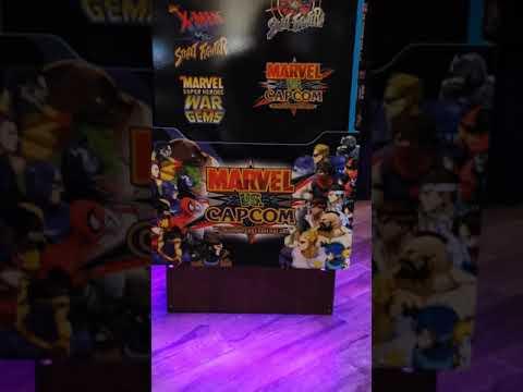 Arcade1up Marvel vs Capcom Modified from Dead Mousy Pluta Prestige