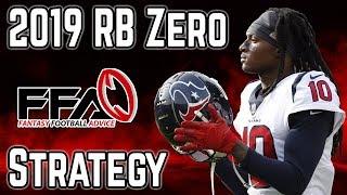 Скачать The RB Zero Strategy 2019 Fantasy Football