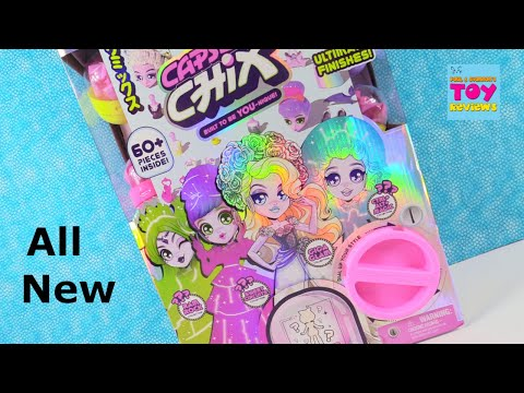 Capsule Chix Ultimix 4 Pack Exclusive Dolls Blind Bag Toy Review | PSToyReviews