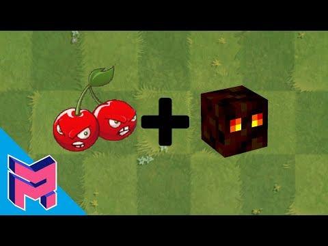 Plants vs Zombies Fusion Hack Animation ( Cherry Bomb + Magma )