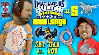 DRONE DELIVERY!  Skylanders Imaginators Speed Drawing Challenge Part 5:  SKY DAD VS. LOU