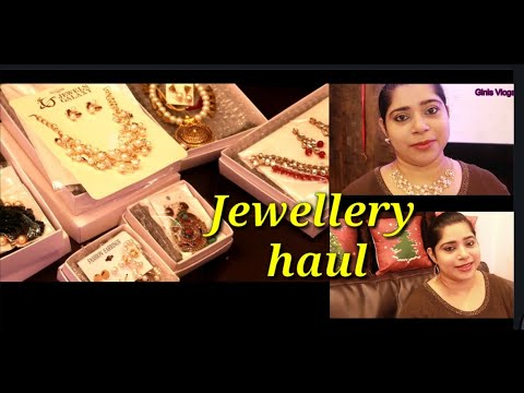 Jewellery Haul/Jewels Galaxy earring and necklace/ epi no 26 from YouTube · Duration:  7 minutes 7 seconds