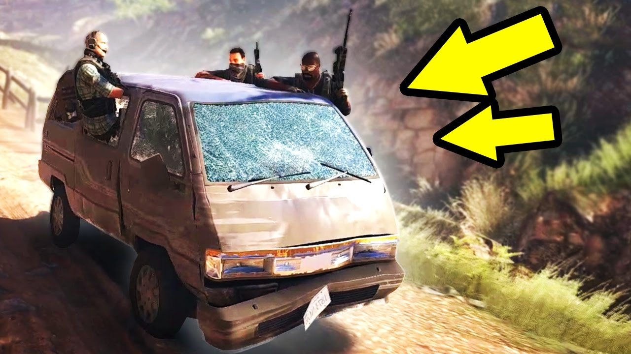 HOW TO NOT PLAY VIDEO GAMES! (Ghost Recon Wildlands)