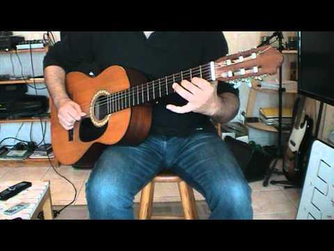 Edith - Piaf  La foule ( un accompagnement guitare)