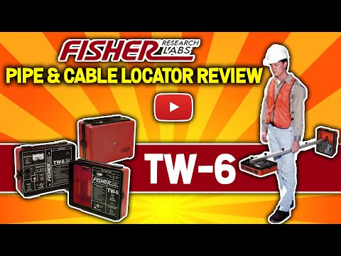 Fisher TW-6 Pipe & Cable Locator Review