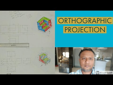 Orthographic projection part 1 fundamentals and basic concept(video lecture)