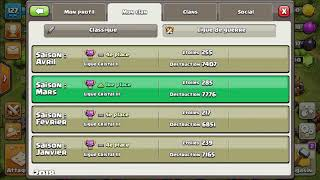 Mon clan sur clash of clans