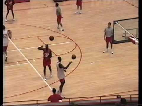 Bob Knight (Indiana) IU Practice #2 October 1995