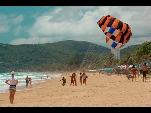 Phuket Beach Sports and Activities Snorkeling, Parasailing, Waterski 2015