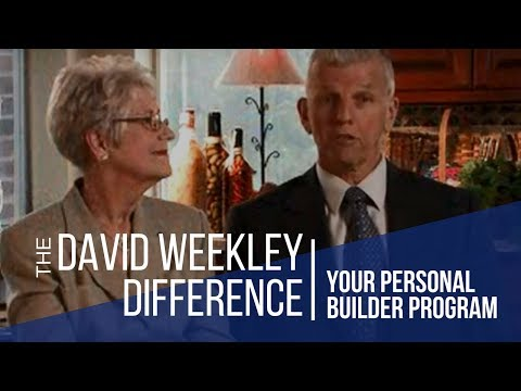 David Weekley Homes Personal Builder Program