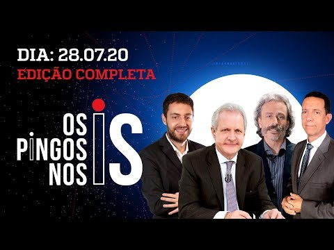 Os Pingos Nos Is - 28/07/20 - CLOROQUINA CENSURADA / TOFFOLI AJUDA WITZEL / ACORDÃO PRÓ-DORIA