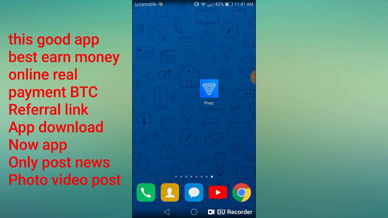 Pivot only free earn money referral inviteCode=ynurtt link download now app